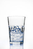 Glass with ice cubes Stock Photos