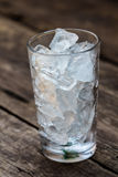 A glass of ice Stock Images