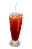 Glass of ice lemon tea Royalty Free Stock Photo