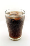 Glass of ice soda Stock Photos