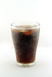 Glass of ice soda Royalty Free Stock Photos