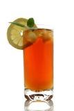 Glass of ice tea Stock Photo