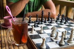 Cup Coffee Chess Stock Photos Royalty Free Images