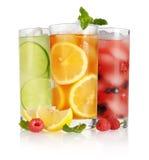 Glass of ice tea Royalty Free Stock Image