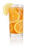 Glass of ice tea Stock Image