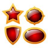 Glass icon Royalty Free Stock Photos