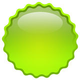 Glass icon Stock Image