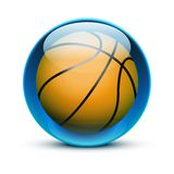 Glass icon sports themes for website or app Royalty Free Stock Photos