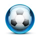 Glass icon sports themes for website or app Royalty Free Stock Photo