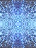 glass illusion Arkivfoto