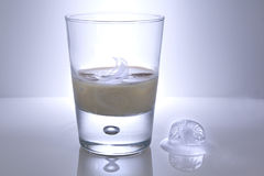 Glass of Irish Creme Stock Images