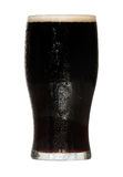Glass of irish stout Royalty Free Stock Image