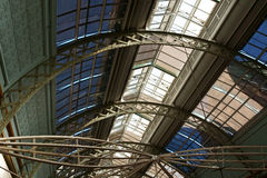 Glass and Iron Roof Royalty Free Stock Image