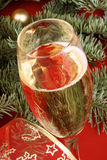 Glass of italian spumante Stock Photography