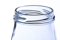 Glass jar Royalty Free Stock Image