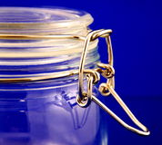 Glass Jar Stock Image