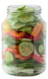 Glass jar Royalty Free Stock Image