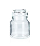 Glass jar royalty free stock images