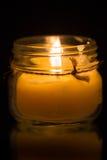 Glass Jar Candle  6 Stock Photos