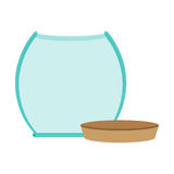 glass jar empty with cap icon Royalty Free Stock Images