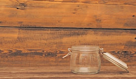 Glass jar Stock Photography