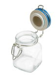 Glass jar Stock Image