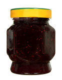 Glass jar of jam Royalty Free Stock Photos