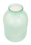 Glass jar with milk Royalty Free Stock Photo