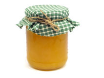 Glass Jar Of Honey Royalty Free Stock Photos