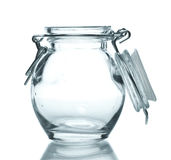 Glass Jar for Spice Stock Images