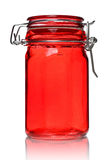 Glass Jar for Spice Royalty Free Stock Images