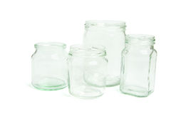 Glass Jars Royalty Free Stock Image