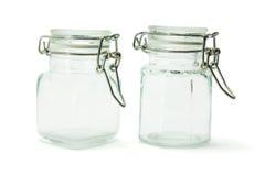 glass jars Arkivbild