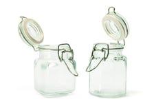 glass jars Royaltyfria Bilder
