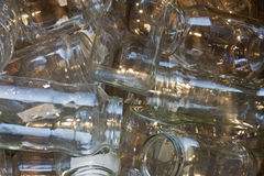 Glass jars Stock Photos