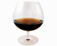 Glass of jerez Stock Photography