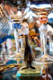 Glass Jew, murano art Stock Photography