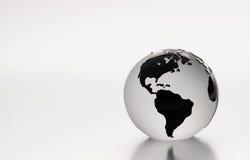 Glass jordklot Arkivbild