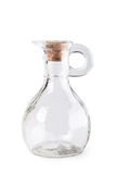 Glass jug for oil Stock Image
