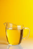 Cooking Oil. Glass Jug With Vegetable Oil Royalty Free Stock Images