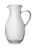 Glass jug Royalty Free Stock Images
