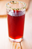 Glass of juice Royalty Free Stock Photo