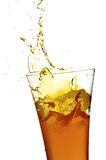 Glass with juice Stock Photography