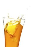 Glass with juice Royalty Free Stock Photos