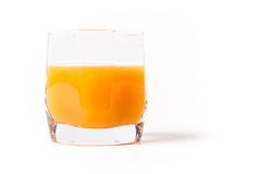 Glass of juice Stock Image