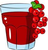 Glass of juice Stock Image