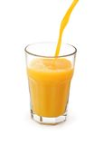 Glass with juice Stock Image