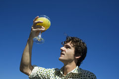 glass juice orange Στοκ φωτογραφία με δικαίωμα ελεύθερης χρήσης