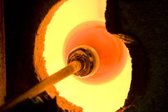 Glass kiln Stock Images