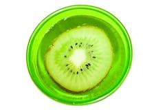 glass kiwivatten för frukt Royaltyfri Foto